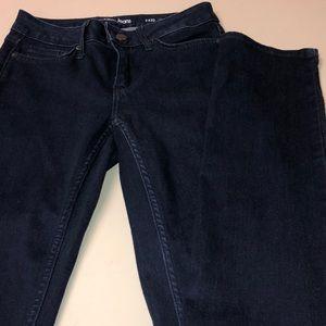 Size 2 ultimate skinny Calvin Klein dark jeans